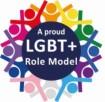 LGBT+ Role Moderl Logo